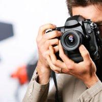 Cámara fotográfica para arquitectura